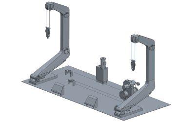 Hydraulic Luffing Arm Type Davit