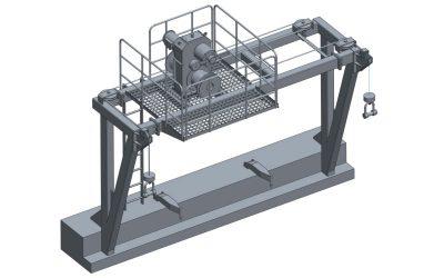 Platform Davit